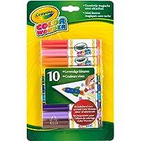 Marcadores Wonder de color Crayola, colorante sin líos, 10 unidades, regalo para niños, 3, 4, 5, 6 años