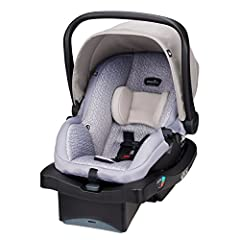Evenflo continues to build on our 100-year tradition of designing superior child-safety systems built to last with our LiteMax 35 Infant Car Seat. The LiteMax 35 baby seat is an easy-to-install and carry, remarkably lightweight infant carrier...