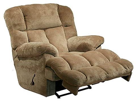 6541-2-2334-36 (Camel) Catnapper Cloud 12 Rocker Recliner. Manuel recliner, has handle. Free Curbside (Catnapper Recliner Rocker)