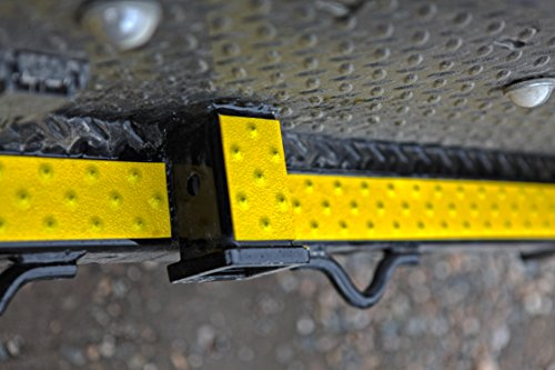 XtremeGrip by GripAll. Yellow studded anti-slip product.  2'' x 24'' by GripAll (Image #1)