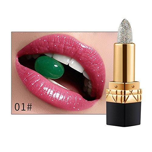 Women Lip Stick Gloss Lipstick Temperature Color Change Lip Moisturizing Care A
