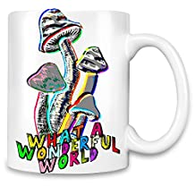 Magic Mushrooms Unique Coffee Mug   11Oz  High Quality Ceramic Cup  The Best Way To Surprise Everyone On Your Special Day  Custom Mugs By Bang Bangin