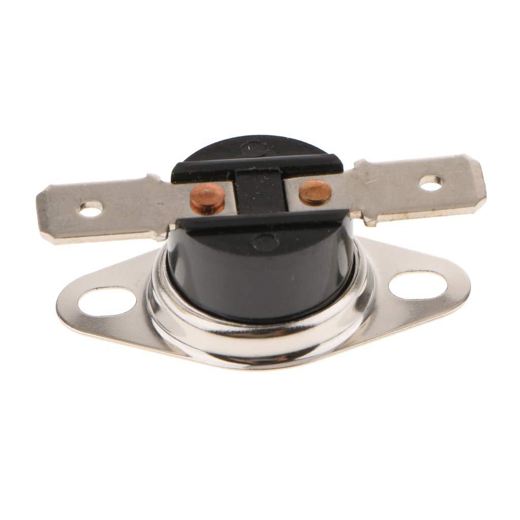 MagiDeal 5 Pieces KSD301 110-140 Celsius Normal Open Temperature Switch 10A 250V 115℃