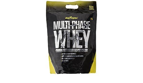 Big Man Nutrition Multi-Phase Whey Complejo de Proteínas, Piña Colada - 2268 gr: Amazon.es: Salud y cuidado personal