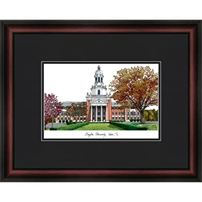 Image of Artwork Campus Images NCAA Baylor Bears Academic Framed Lithograph