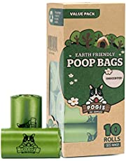 Pogi's Poop Bags - Large, Leak-Proof, Earth-Friendly Poop Bags for Dogs