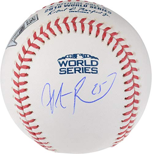 (Steve Pearce Boston Red Sox 2018 MLB World Series Champions Autographed Logo Baseball - Fanatics Authentic)
