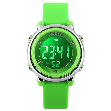 Los niños LED reloj Digital Relogio Feminino Relojes deportivos Niños Dibujos Animados Jelly Relojes Mujer Resistente