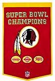 Winning Streak Washington Redskins Official NFL 24 inch x 36 inch Dynasty Wool Banner Flag by 770959