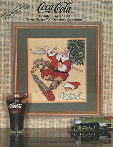 Coca Cola - Santa Series #5 - Season's Greetings
