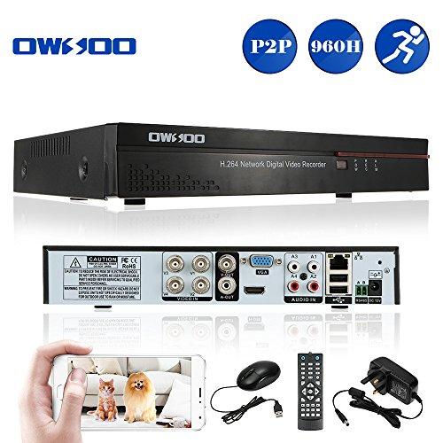 OWSOO 4CH CCTV DVR 960H Full D1 H.264 4 Channel Digital Video Recorder P2P...