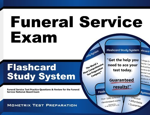 By Funeral Service Exam Secrets Test Prep Team Funeral Service Exam Flashcard Study System: Funeral Service Test Practice Questions & Review for th (Flc Crds) [Cards]