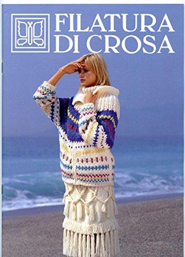 Filatura Di Crosa - 2002 Italian Language Knitting Pattern Book - Aurea Filcrosa