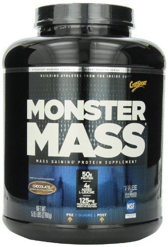 CytoSport Monster Mass, chocolat, 5,95 Pound