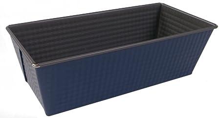 Molde para bizcocho 25cm Azul/Plata antiadherente molde bandeja de ...