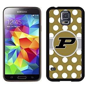 Fashionable And Unique Custom Designed With Ncaa Big Ten Conference Football Purdue Boilermakers 5 Protective Cell Phone Hardshell Cover Case For Samsung Galaxy S5 I9600 G900a G900v G900p G900t G900w Phone Case Black