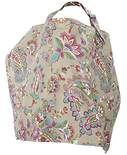 Simplicity Women Nursing Cover Breastfeeding Baby Blanket Poncho Cotton Colorful