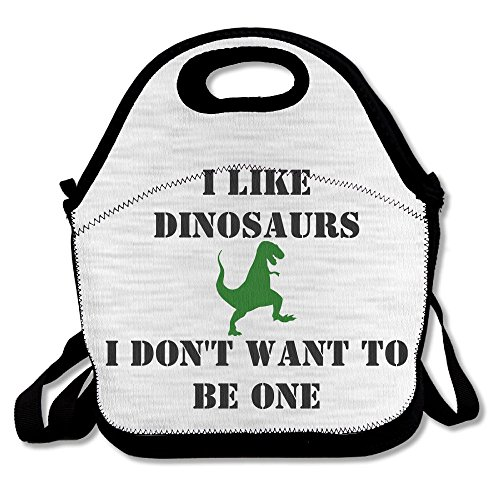 Kkajjhd Don't Make Me A Dinosaur Tote Bags And Velcro Tote B