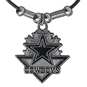 NFL Dallas Cowboys Leather Cord Necklace