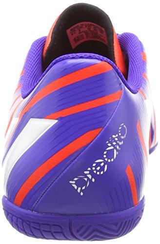 adidas Predito Instinct Indoor - Zapatillas de fútbol sala de material sintético para hombre schwarz / rot / weiß Mehrfarbig (Purple/Red)