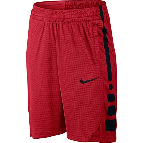 Red Kids Basketball (Boy's Nike Dry Basketball Short University Red/Black Size Small)