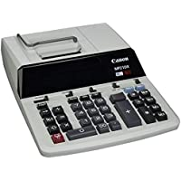 Canon CNMMP21DX Color Printing Calculator, AC Supply Powered, 3.7 x 9 x 12.2, White, 1 Each