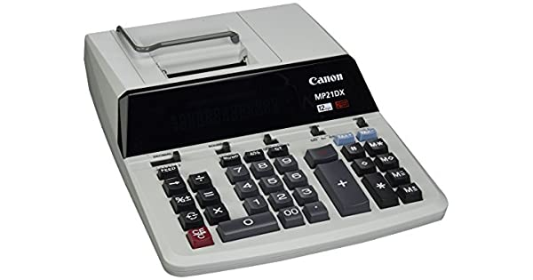 Amazon.com: Canon cnmmp21dx Color Printing Calculator ...