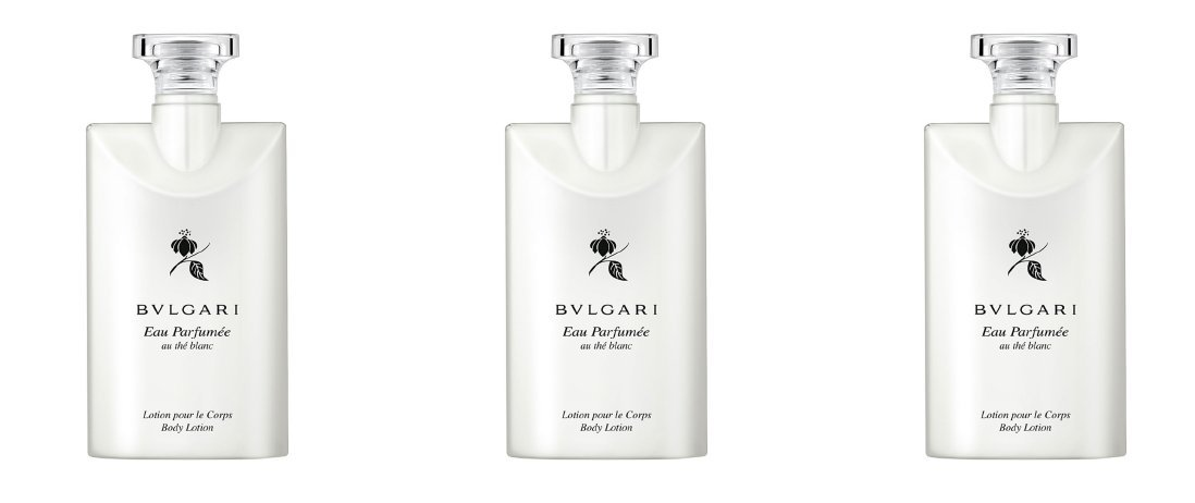 Bvlgari Au the Blanc (White Tea) Body Lotion - Set of 3, 2.5