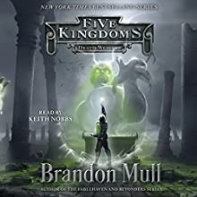 Death Weavers: Five Kingdoms, Book 4 Audiobook by Brandon Mull Narrated by Keith Nobbs