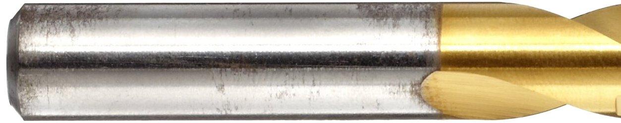 Precision Twist #2 Jobber Length Drill HSS TiN Coated 2 5//8 Flute 3 7//8 L