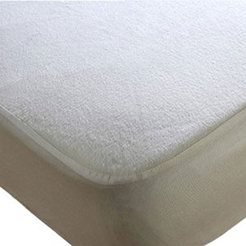 Breathable Fitted Sheet 90x40 cm Clevamama Waterproof Mattress Protector Crib
