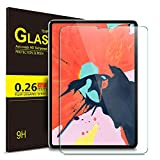 IVSO Screen Protector for ipad pro 11 - 9H Hardness HD Clear Tempered Glass Screen Protector Fit for Apple New iPad Pro 11 2018 Release (Compatible with Apple Pencil and Face ID) (Clear)