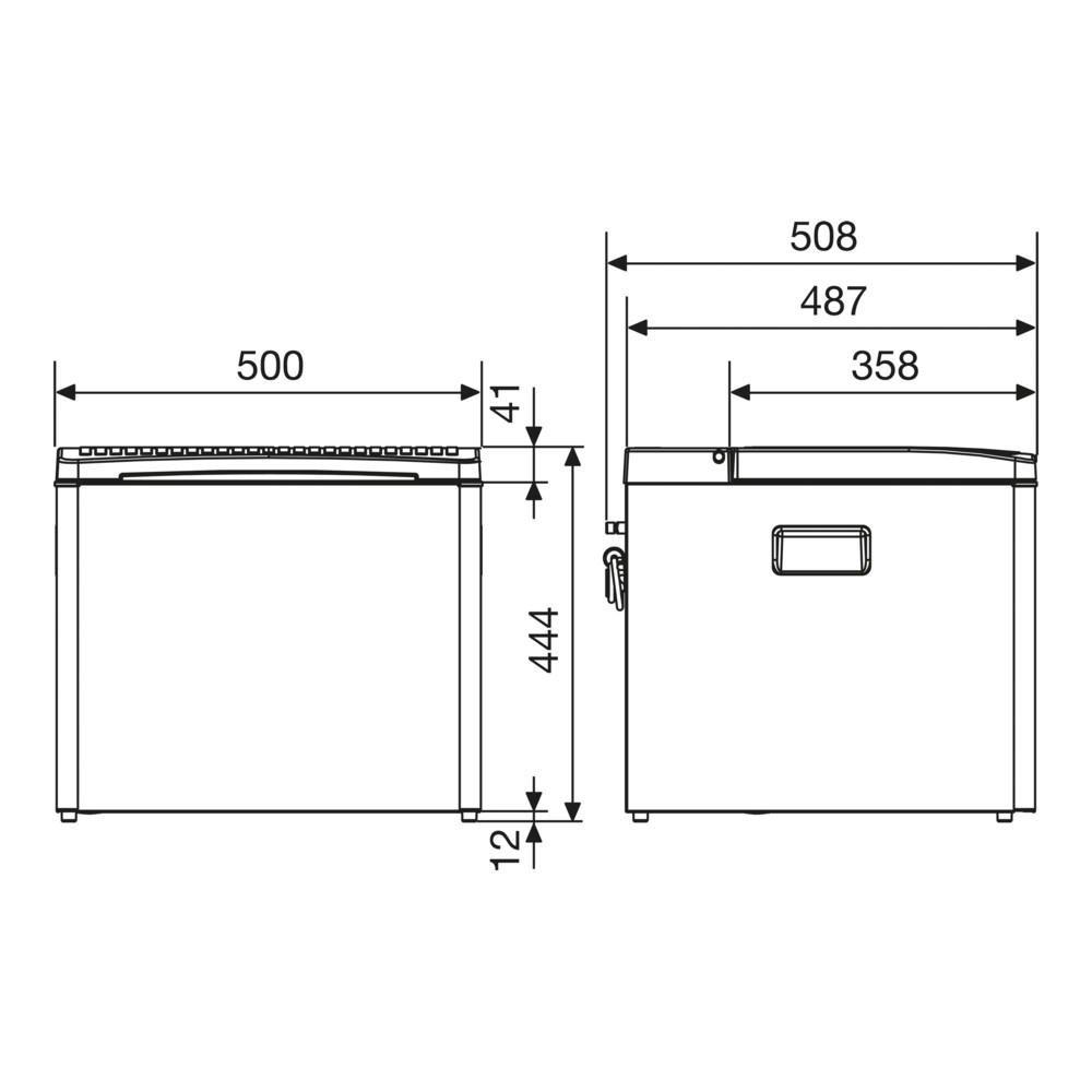 Dometic Combicool RC1200 EGP - Nevera de Absorción, 40 L, 12/230 V ...