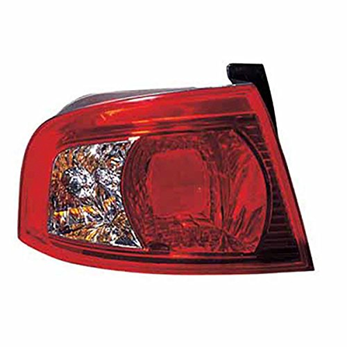 HEADLIGHTSDEPOT Tail Light Compatible with Kia Magentis Optima Left Driver Side Outer Tail Light