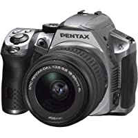 Pentax K-30 lens kit w DA 18-55WR Weather-Sealed 16 MP CMOS Digital SLR (Crystal Silver)