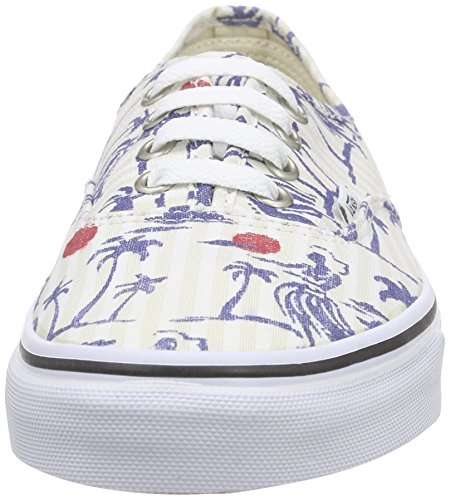 Ginnastica Authentic da Stripes Basse Multicolore Unisex Vans Scarpe Adulto White True Hula AwxqtfC