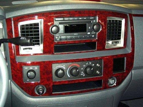 dodge-ram-1500-2500-3500-interior-burl-wood-dash-trim-kit-set-2006-2007-2008
