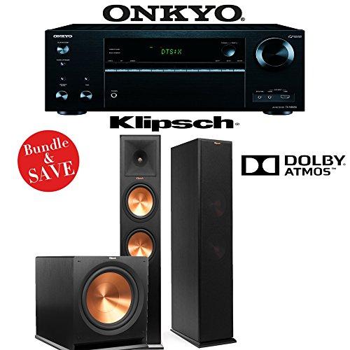 Onkyo TX-NR656 7.2 Channel Network A/V Receiver + Klipsch RP