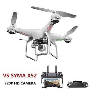 Drone con cámara 720P Upgrate HD 0,3 W Blanco Hover Helikopter VS ...
