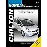 Honda Fit (Chilton) Automotive Repair Manual: 2007-13