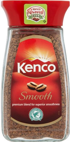 2 Jars of Kenco Smooth Instant Coffee each jar 3.5oz/100g (Smooth Instant Coffee)