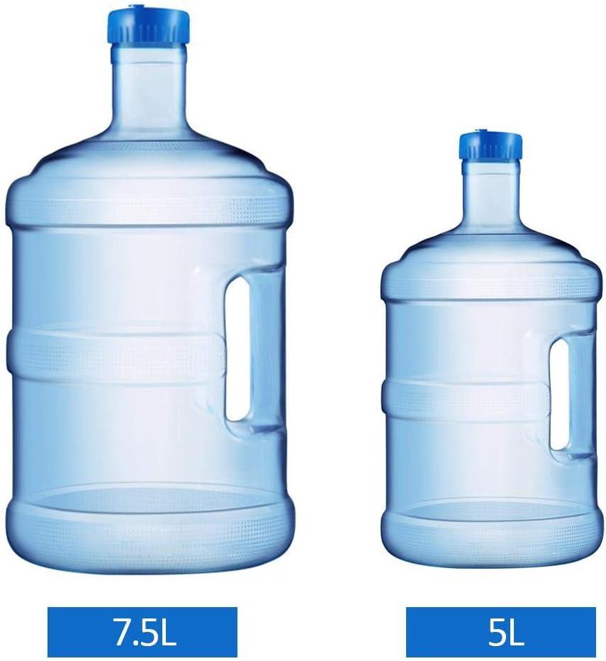 liuxi9836 Jarra de Agua Grande de 5L con asa Contenedor de Botella de Agua BPA pl/ástico Libre a Prueba de Fugas para Deportes al Aire Libre Camping Gimnasio Oficina de Viajes Inicio Like-Minded