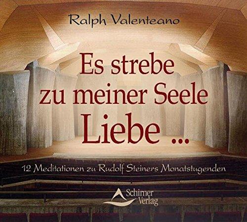 Es strebe zu meiner Seele Liebe .: 12 Meditationen zu Rudolf Steiners Monatstugenden