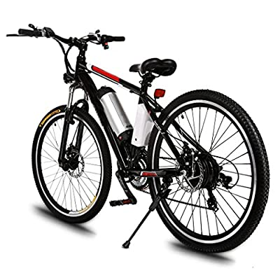 Viment 26 inch lithium electric bicycle speed mountain bike 250W/21