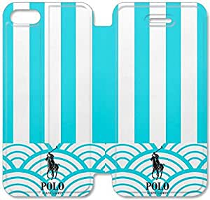 5 5s Cover,[Pu Leather Cover] Polo Ralph Lauren Theme New iPhone 5 5s Case Cover KA5836