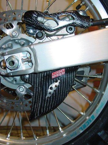 Rear Caliper Guard (LightSpeed Carbon Fiber Rear Caliper-Disc Guard 124-01224)