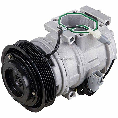 AC Compressor & A/C Clutch For Lexus ES300 & Toyota Camry Solara Sienna - BuyAutoParts 60-01374NA NEW ()