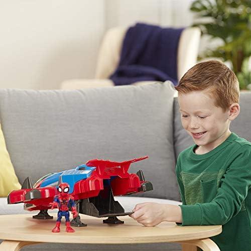 Playskool Eroi MARVEL Spider-Man jetquarters-Action Figure Bambini Giocattolo Regalo