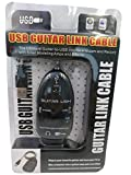 QiCheng&Start Black Guitar to USB Interface Link Instrument Audio Cable PC/MAC Recording Adapter