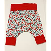 Woodland Fox Grow With Me Harem Pants Size 0-6 Months